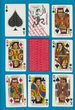 Collectable Advertising playing cards court  Smirnoff Vodka, 1973